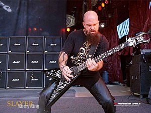 Kerry King and Slayer will be playing in Idaho soon.