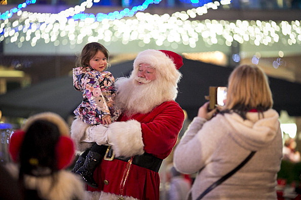 Christmas Market And Festivities On SouthBank