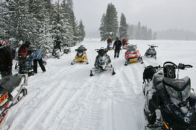 Photo courtesy of the Missoula Snowgoers Snowmobile Association