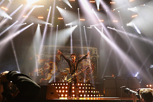 Green Day Performs At Talking Stick Resort Arena