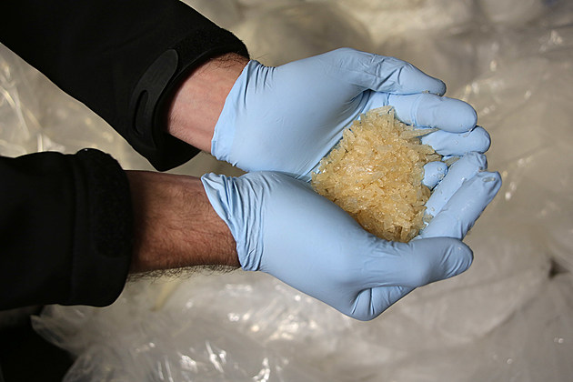 Police Break Crystal Meth Manufacturing Ring