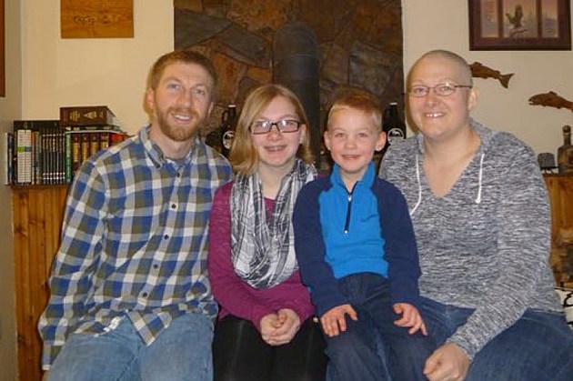 Ninah Steber with her family