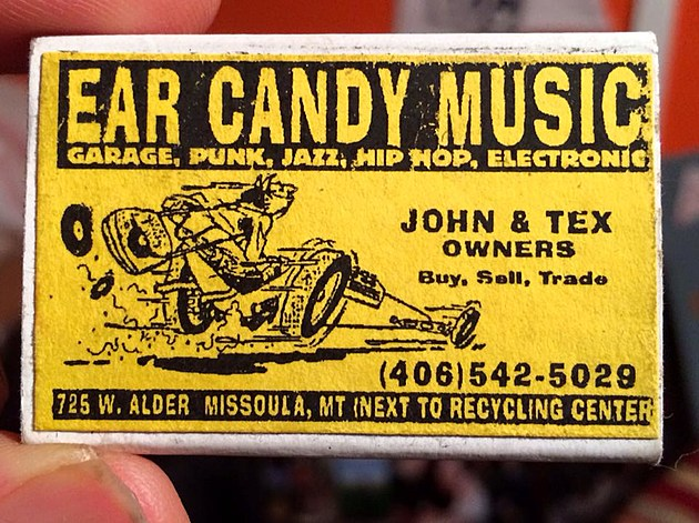 Classic Ear Candy box of matches. Photo courtesy of Bob Marshall